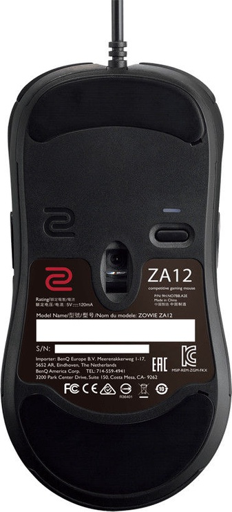 Zowie ZA12 Optical Gaming Mouse Black