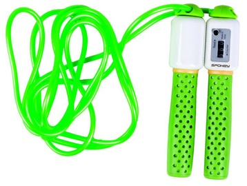 Spokey Skipping Rope with Meter 839203 Green