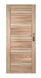 Vidaus durų varčia Etna, sonoma alksnio, kairinė, 84.4x203.5 cm