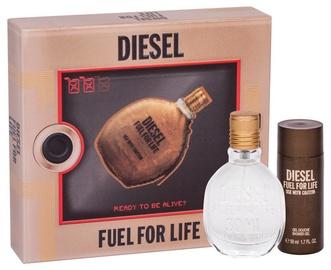 Набор для мужчин Diesel Fuel For Life 2pcs Set 80 ml EDT