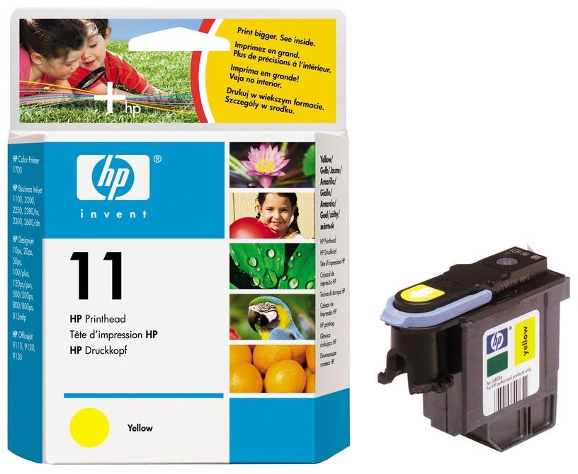 HP NO 11 Printhead Yellow