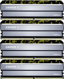 G.SKILL Sniper X Digital Camo 64GB 2400MHz CL17 DDR4 KIT OF 4 F4-2400C17Q-64GSXK