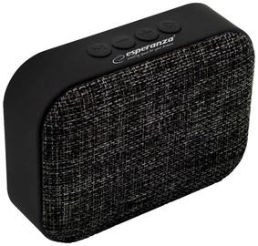 Belaidė kolonėlė Esperanza Samba Bluetooth Speaker Black