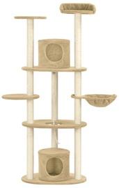 Когтеточка для кота VLX Cat Tree, 400x400x1600 мм