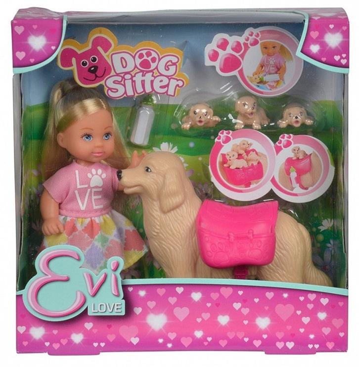 Кукла Simba Evi Love Dog Sitter 105733072