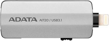 A-Data i-Memory AI720 Flash Drive 64GB USB 3.1 Space Gray