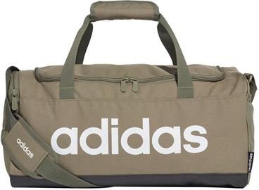 Adidas Linear Logo Duffel Bag S FS6502 Khaki