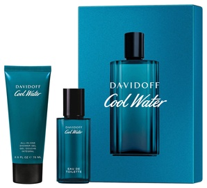 Davidoff Cool Water 40ml EDT + 75ml Shower Gel