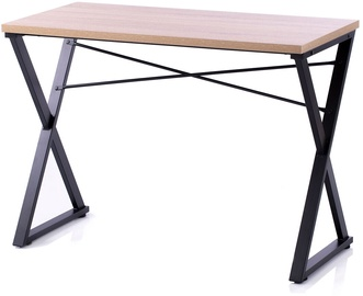 Homede Lirn Desk Oak/Black