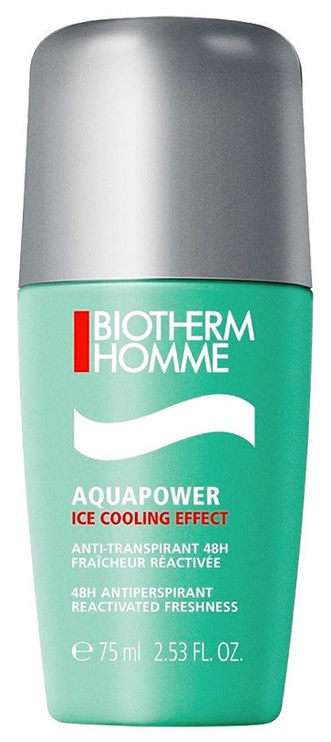 Biotherm Homme Aquapower Antiperspirant Roll On 75ml