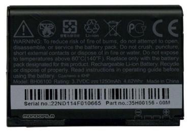 Батарейка HTC, Li-ion, 1250 мАч