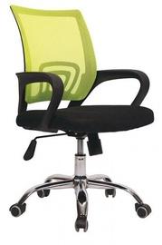 Офисный стул Vangaloo, черный/зеленый