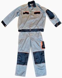 Artmas Bib-Trousers With Jacket Grey 182cm