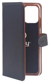 Чехол Celly Wally 1005, коричневый/черный