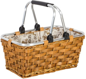 Home4you Shopping Cart Apollo 44x26xH20cm Brown