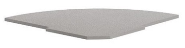 Skyland Imago PC-5.1 Reception Shelf 81.5x81.5x2.2cm Grey