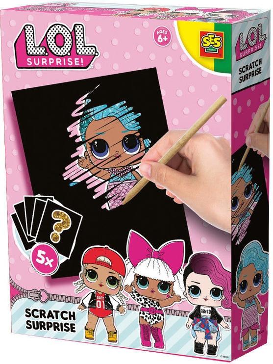 SES Creative L.O.L. Scratch Surprise 14194