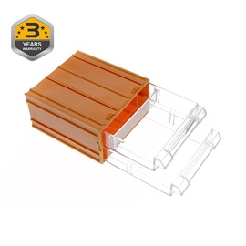 Smulkių daiktų dėžė Forte Tools, 12 x 6,2 x 11 cm