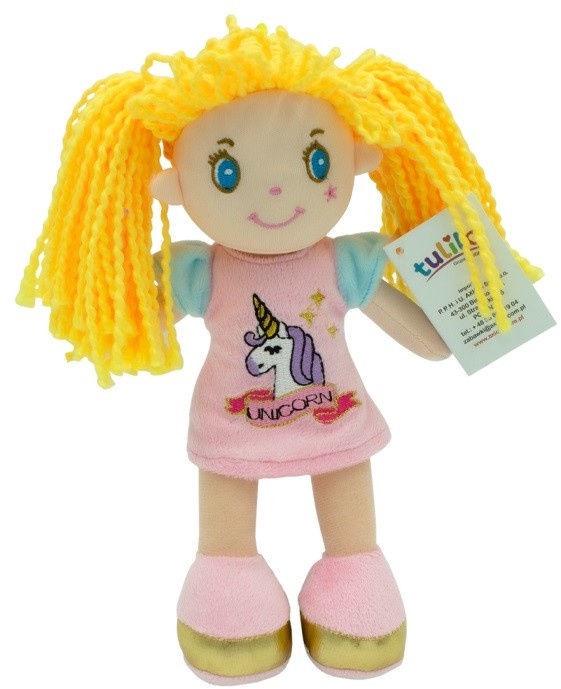 Тряпичная кукла Axiom Zosia Doll Pink Dress 20cm