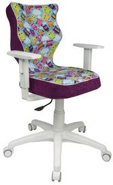 Bērnu krēsls Entelo ST32 White/Viole
