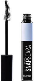 Skropstu tuša Maybelline Snapscara Washable Pitch Black, 9.5 ml