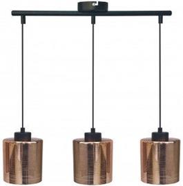 Candellux Cox 33-51523 Ceiling Lamp 3x60W E27 Black/Copper