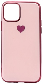 Fusion Heart Back Case For Apple iPhone 11 Pro Max Pink