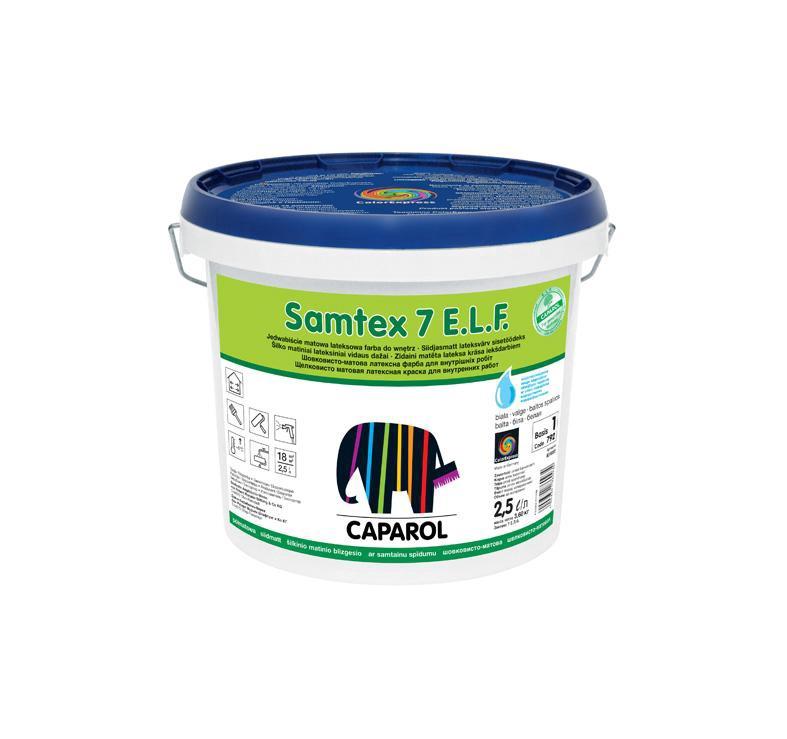 Seinavärv Samtex 7 ELF B1 valge 2,5l