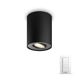 Išmanusis šviestuvas Philips Pillar Hue, juodas, 1x5.5W 230V