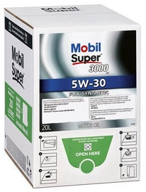Mobil Super 3000 XE 5W30 Motor Oil Bag In Box 20l