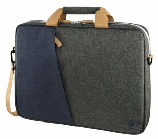 Hama Florence Notebook Bag 13.3 Marine Blue Dark Grey