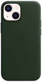 Чехол Apple iPhone 13 mini Leather Case with MagSafe, зеленый