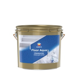 Põrandavärv Eskaro Floor Aqua valge 9,0l