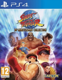 Игра для PlayStation 4 (PS4) Street Fighter 30th Anniversary Collection PS4