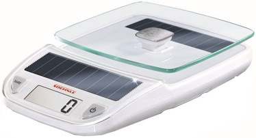 Soehnle Electronic Kitchen Scales On Solar Batteries Easy Solar White