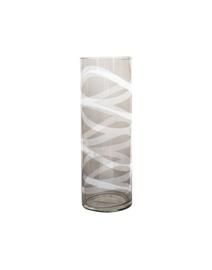Stiklinė vaza, 10.7 x 30 cm