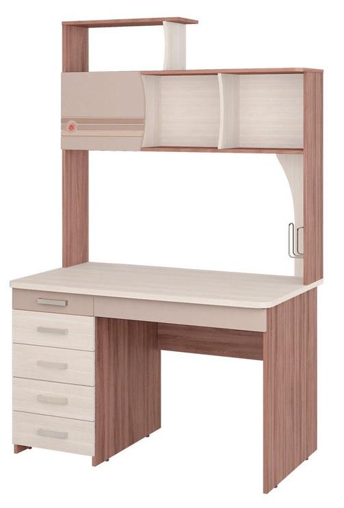 DaVita Britanija 52.14 Desk Koburg Oak/Dark Ash Shimo