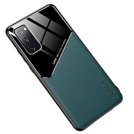 Чехол Mocco Lens Leather For Xiaomi Mi 10T, зеленый
