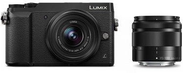 Panasonic Lumix DMC-GX80 + 12-32mm + 35-100mm Kit Black