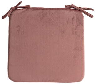 Home4you Velvet Chair Pad 39x39cm Pink