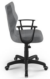 Офисный стул Entelo Norm AL03, черный/серый