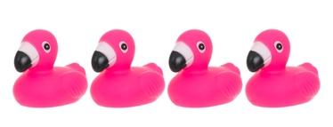 Rotaļlieta vannas flamingo 4gab