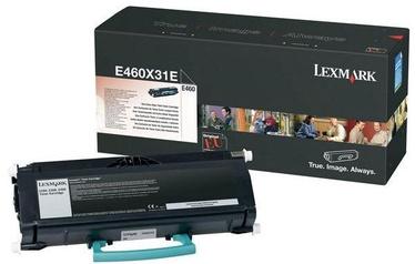 Lazerinio spausdintuvo kasetė Lexmark E460X31E BLACK