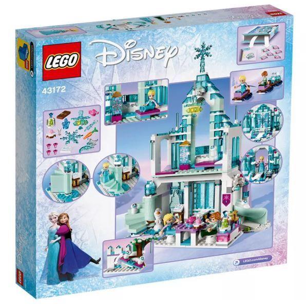Constructor LEGO Disney Frozen Elsas Magical Ice Palace 43172