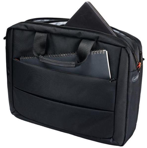 """Addison Notebook Bag 15.6"""" Black"""