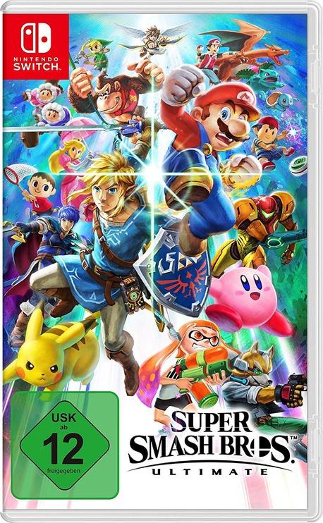 Nintendo Switch Grey + Super Smash Bros Ultimate