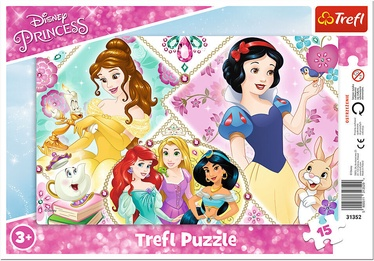 Trefl Frame Puzzle Disney Princess 15pcs 31352