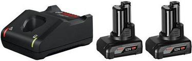 Bosch 2xGBA 12V 6.0Ah + GAL 12V-40
