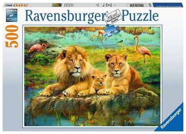 Ravensburger Puzzle Lions In The Savvanah 500pcs 16584