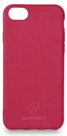 Screenor Ecostyle Back Case For Apple iPhone 7/8/SE 2020 Cherry Pink
